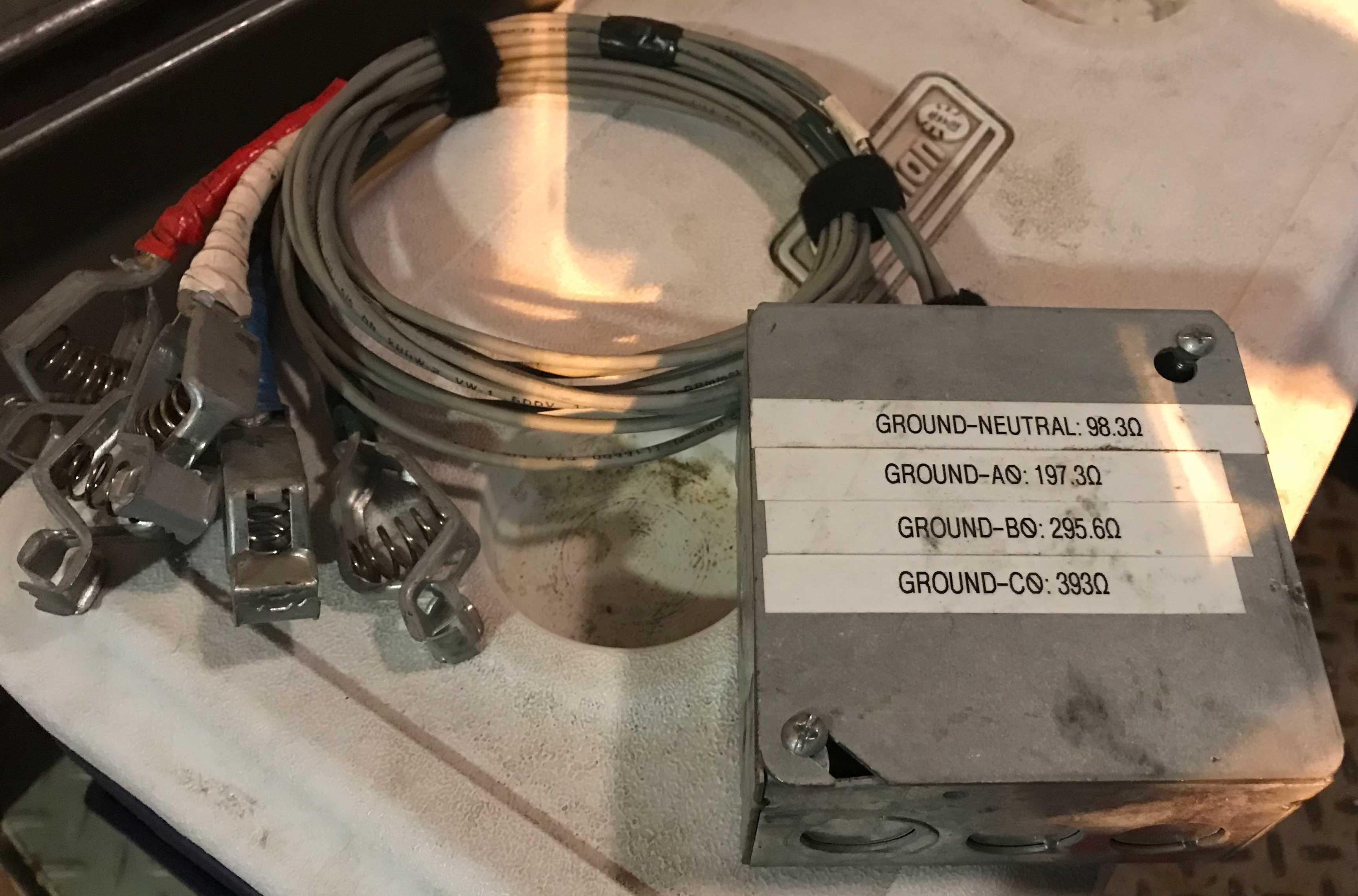 Custom DC Resistor Text Box