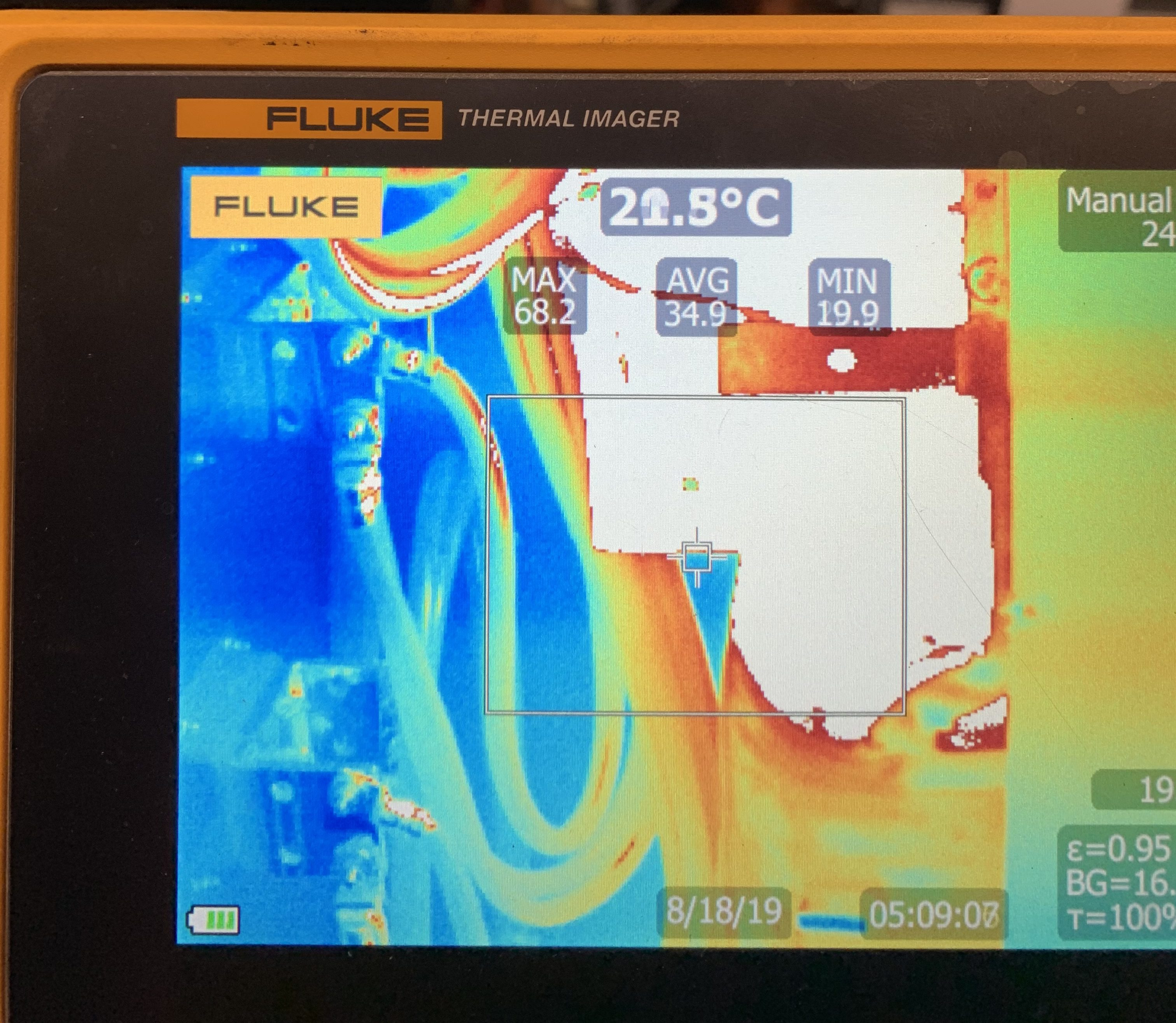 Infrared Camera Temperature Range